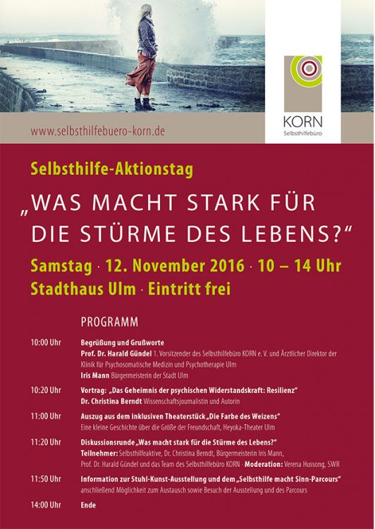Plakat Selbsthilfe-Aktionstag 12.11.2016